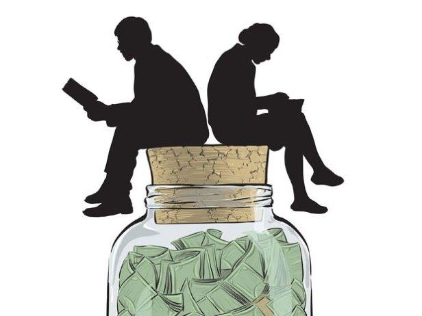 couple-sitting-on-money